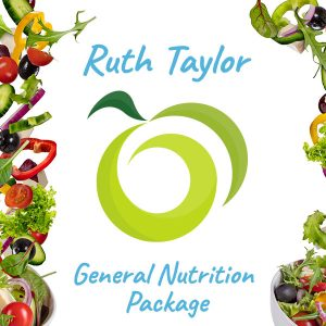 General Nutrition Package - Support, Advice, Help, Therapy